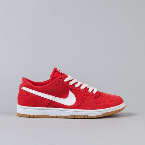 7fe0a15123d3 Nike SB Dunk Low Pro Ishod Wair Shoes - Red   White
