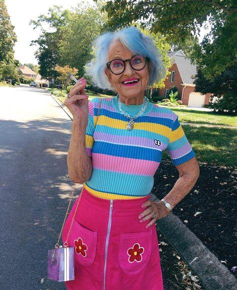 60 Photos Of Instagrams Most Stylish 92 Y.O. Grandma