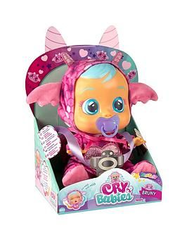 Cry Babies Dotty Doll Cry Real Tears /& Baby Sounds Interactive Girls Pretend Toy