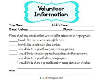 Classroom Management Reminders Charts Notes Forms  Teacher Forms