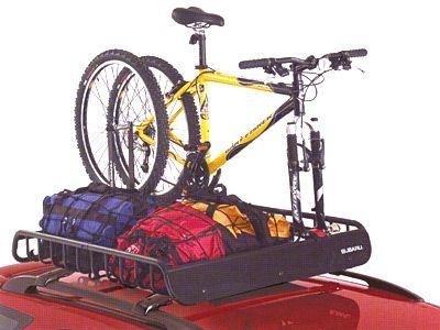 2006 Subaru Outback Sport Roof Cargo Basket Heavy Duty W Bike Rack Subaru Outback Subaru Bike Rack