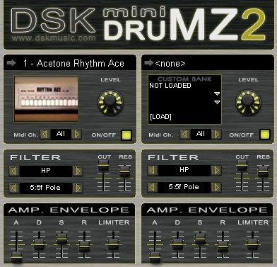 Dsk Mini Drumz 2 Ableton Drums Music Mixing