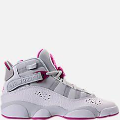 buy online bf32d 218d1 Girls' Grade School Jordan 6 Rings (3.5y-9.5y) Basketball ...