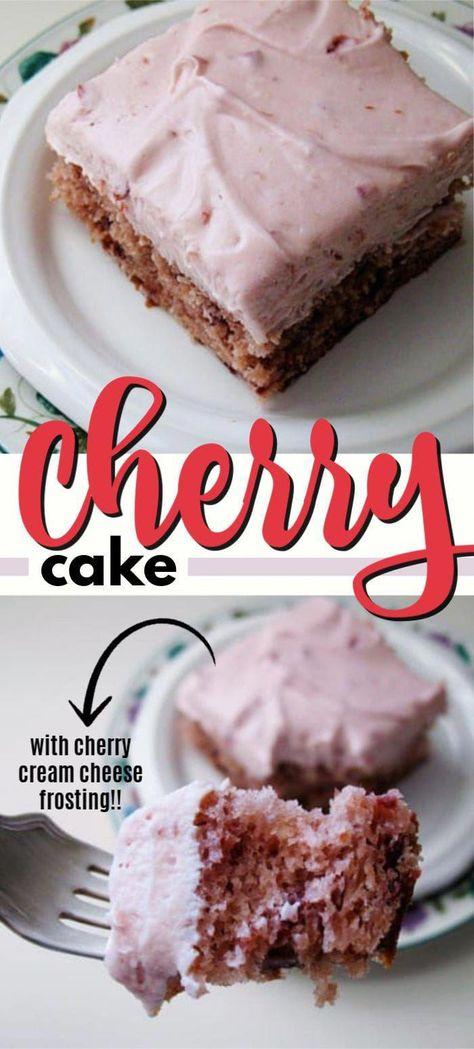 Cherry Cake! 6 ingredients!