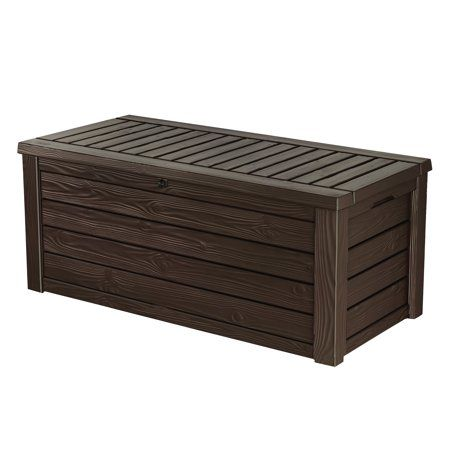 Outstanding Keter Westwood 150 Gallon Outdoor Deck Box Resin Patio Forskolin Free Trial Chair Design Images Forskolin Free Trialorg