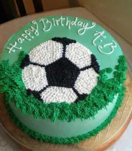 44 New Ideas For Birthday Cake Kids Boys Football Soccer Birthday Cakes Football Birthday Cake Soccer Cake