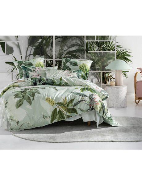 Linen House Glasshouse Duvet Cover Set Duvet Covers Co Ordinates Green Duvet Covers Duvet Covers Duvet Cover Sets