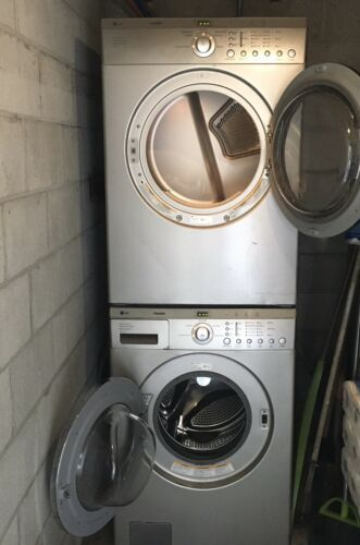 Lg Tromm Stackable Washer And Dryer W Stacking Kit Front Appliances Sacramento Ca At Geebo In 2020 Appliance Sale Stackable Washer Washer