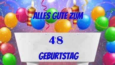 Alles Gute Zum 48 Geburtstag 19 Geburtstag 70 Geburtstag