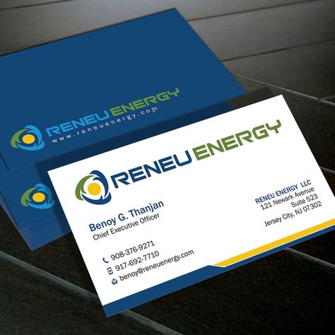Creating A Business Card For Renewable Energy Consulting Firm That Focuses On Solar Business Card Co In 2020 Energy Consulting Creating A Business Business Card Design