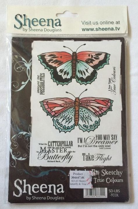 Crafters Companion A LITTLE BIT SKETCHY A6 Unmounted Stamps ROSE SD-LBS-ROSE