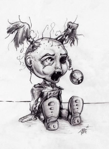 28 Ideas Doll Drawing Creepy Drawing Doll With Images