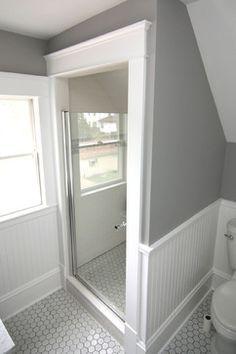 Shower Design With Sloped Ceiling Integralbookcom - Slanted ceiling bathroom