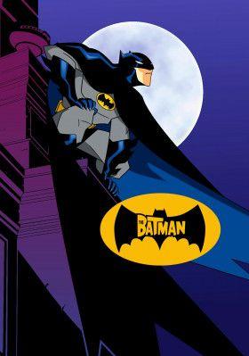 The Batman Tv Poster Image Batman Illustration Batman Cartoon