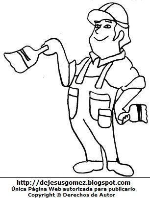 Hombre Trabajando Dibujos De Hombres Hombres Dibujos