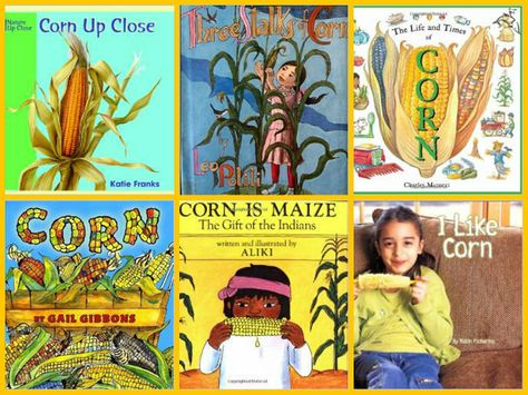 Books about Corn for Preschool