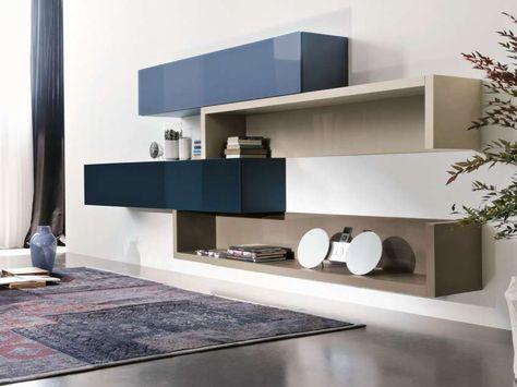 Pareti Attrezzate Moderne Da Ikea A Chateau Dax Le Idee