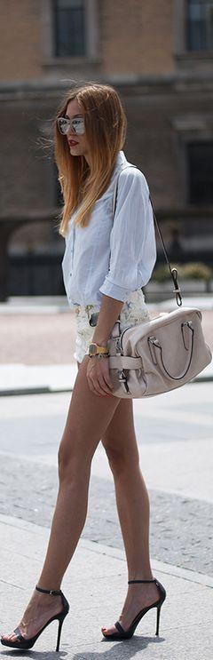 short skirt high heels | sheer, or short or skin tight | Pinterest | Short  skirts, Soho and High heel