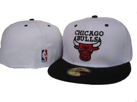 NBA chicago bull white cap  365da23fb42