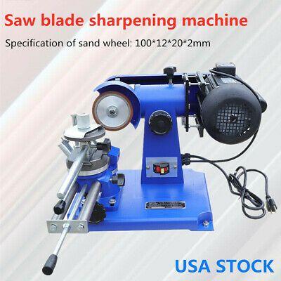 Mf126a Carbide Saw Blade Sharpener Machine Mill Sharpener Grinder 0 37kw New In 2020 Blade Sharpening Saw Blade Sharpener