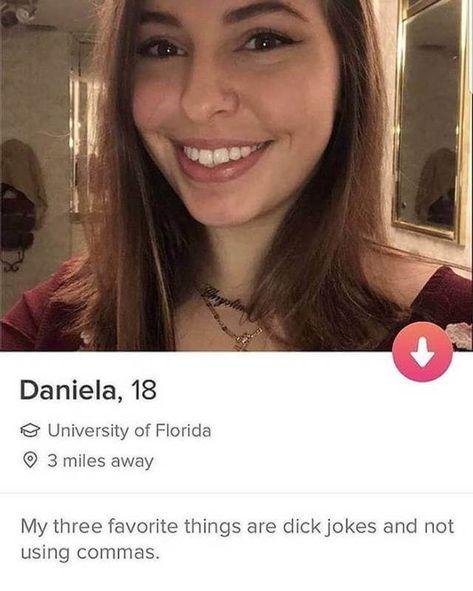 Sehr erwachsene dating-profile lustig