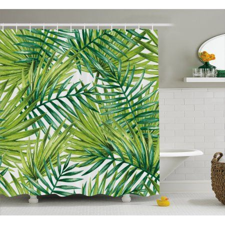 Home Fabric Shower Curtains Tropical Shower Curtains Tropical Showers