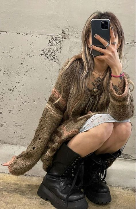 Looks Style, Looks Cool, Style Me, Estilo Indie, Estilo Hippy, Indie Outfits, Grunge Outfits, Edgy Outfits, Swag Outfits
