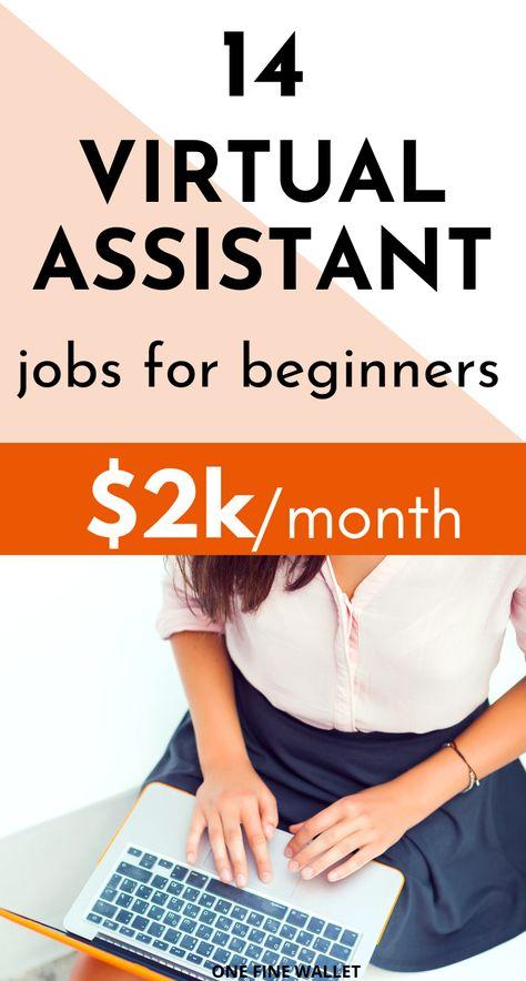 Virtual Assistant Jobs (Part time, Online Jobs)
