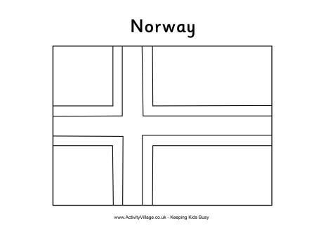 Norway Flag Coloring Page In 2020 Flag Coloring Pages Coloring