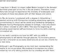 Artist Statement Examples Google Search Artist Statement