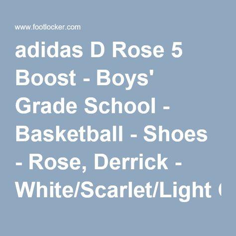 adidas d rose 5 grade school