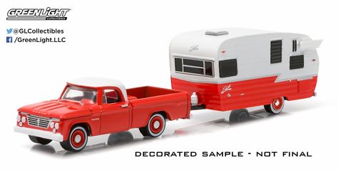 2017 Greenlight Series 3 Hitched Homes 1958 Siesta Trailer Yellow//Brown