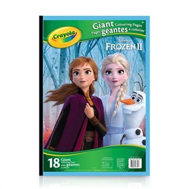 Crayola Giant Colouring Pages Disney Frozen 2 In 2020 Crayola Frozen Coloring Frozen