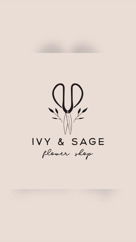 Ivy & Sage Pre-Made Logo Design