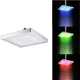 Contemporary Temperature Sensitive 12 Led Lights Shower Head Led Shower Head Led Faucet Shower Heads
