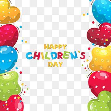 Feliz Dia Del Nino S Frontera Frontera Marco Lindo Png Y Vector Para Descargar Gratis Pngtree In 2021 Children S Day Happy Kids Happy Children S Day