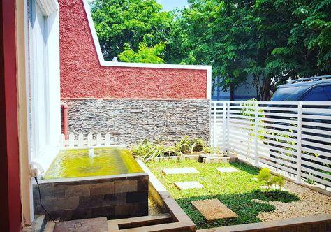 taman depan rumah minimalis lahan sempit   rumah minimalis