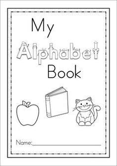 photo regarding Alphabet Booklets Printable identify Pin via Connie Seelhoefer upon Preschool composing Alphabet