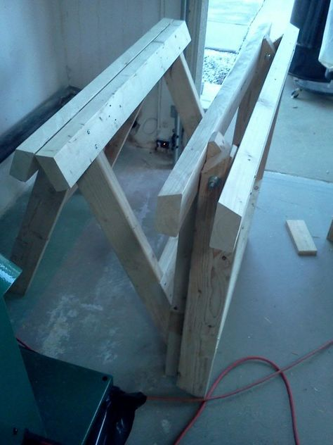 Another Foldable Sawhorse