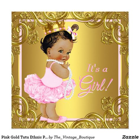 Pin On Ethnic Girl Baby Shower Ideas