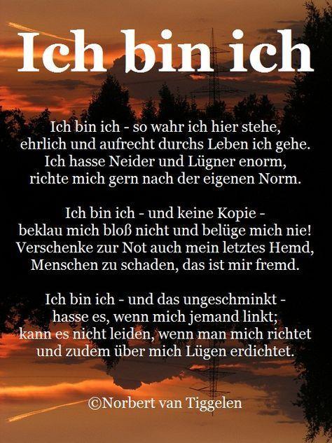 GEDICHTE VON NORBERT VAN TIGGELEN - Startseite #zuhausespruch
