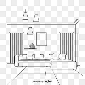 Living Room Sketch Sketch Vector Sketch Living Room Png Transparent Clipart Image And Psd File For Free Download Living Room Leather Living Room Sofa Decor