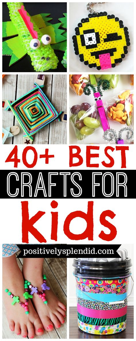 40+ Best Kids' Craft Ideas