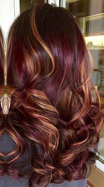 56 Ideas Hair Color Blonde Ombre Silver Dark Brown Redhaircolor In 2020 Red Ombre Hair Brunette Hair Color Brown Hair With Blonde Highlights