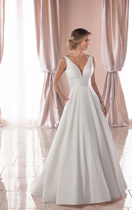 Stella York 6758 Ball Gown Wedding Dress Stella York Wedding Dress Wedding Dresses Simple