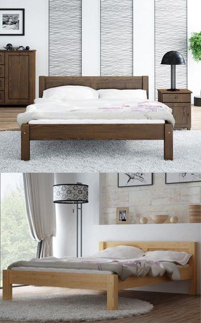 łóżko Drewniane 140 Wiktoria 4 Kolory Meble Magnat