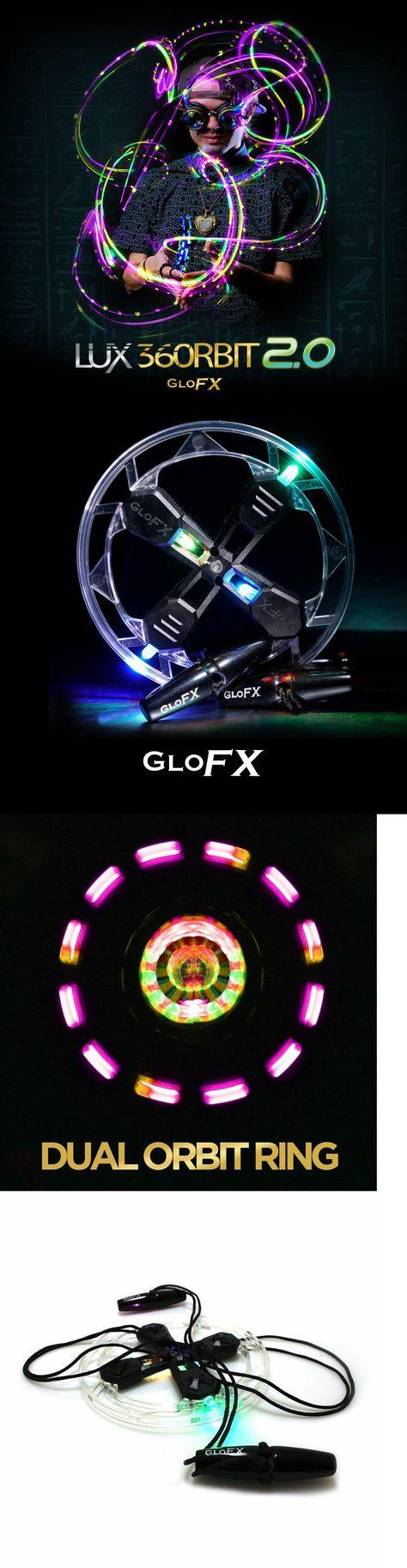Yum Yum GloFX Team 4-LED Orbit Rave Disco Micro Light Orbital Show LED Toy