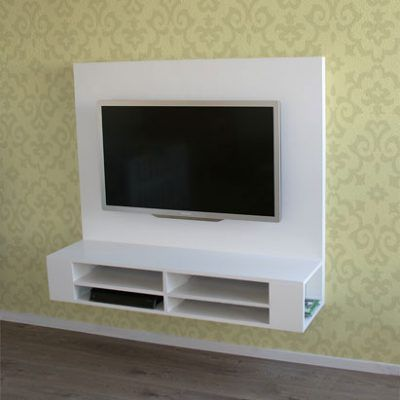 Hangende Tv Kast.Zelf Hangend Tv Meubel Maken Penelope In 2019 Tv Stand Cabinet