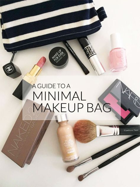 A guide to a minimal make up bag