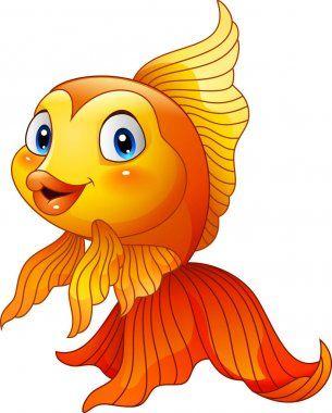 Kartinki Zolotaya Rybka Multfilm Milyj Zolotaya Rybka Vektornoe Izobrazhenie C Dreamcreation01 1 In 2021 Baby Animal Nursery Art Cartoon Fish Art Drawings For Kids